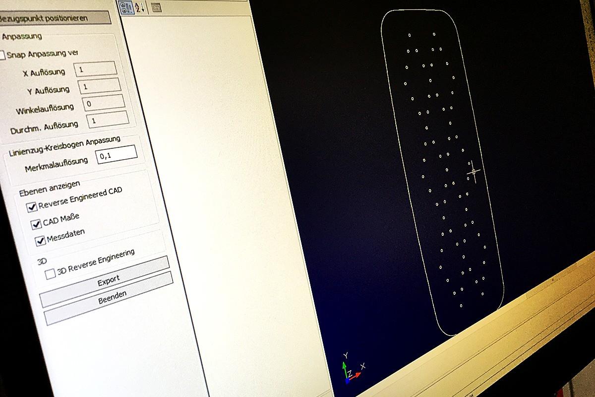 Reverse Engineering und 2D-Vermessung Ihrer Bauteile