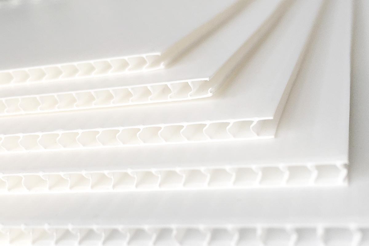 Stegplatten von der Interplast Kunststoffe GmbH