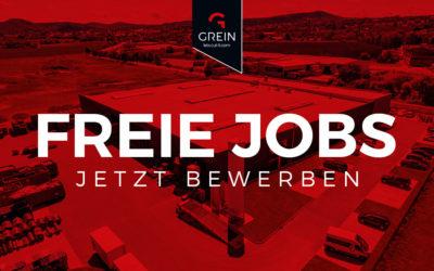 Aktuelle Stellenangebote bei Grein in Eschwege